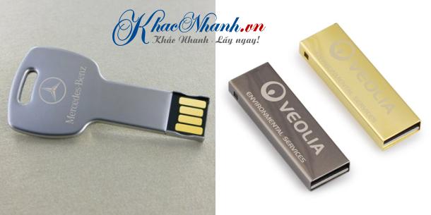 Nhận khắc laser lên USB kim loại Hà Nội và Sài Gòn