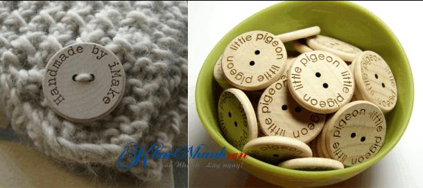 Địa chỉ bán cúc áo, nút áo bằng gỗ tại Tphcm