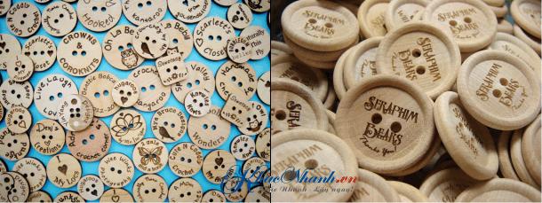 Địa chỉ sản xuất nút áo, cúc áo bằng gỗ tại Sài Gòn
